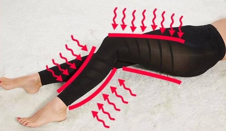 脚の引き締め効果