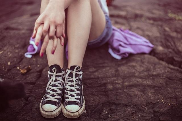 女性の美脚