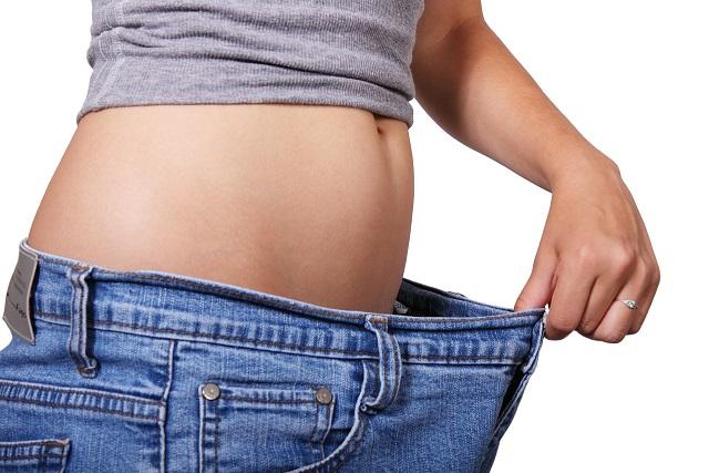 脂肪のない女性