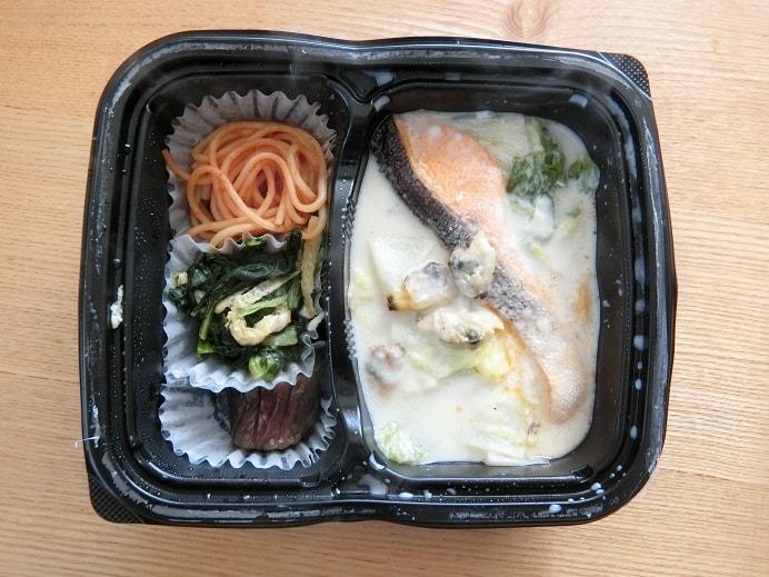 鮭とアサリのクリーム煮セットの画像2