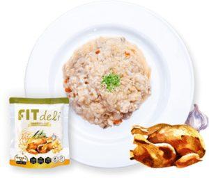 フィットデリ参鶏湯玄米味