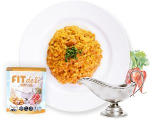 フィットデリカレー玄米味